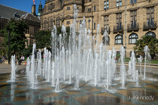 Water Features in the city centre